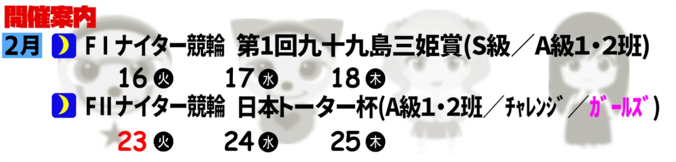 F1 第1回九十九島三姫賞